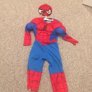 Other - Toddler 3-4 spider man costume.  Worn once.